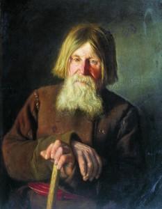 В.М. Максимов «Старик» 1881 г.
